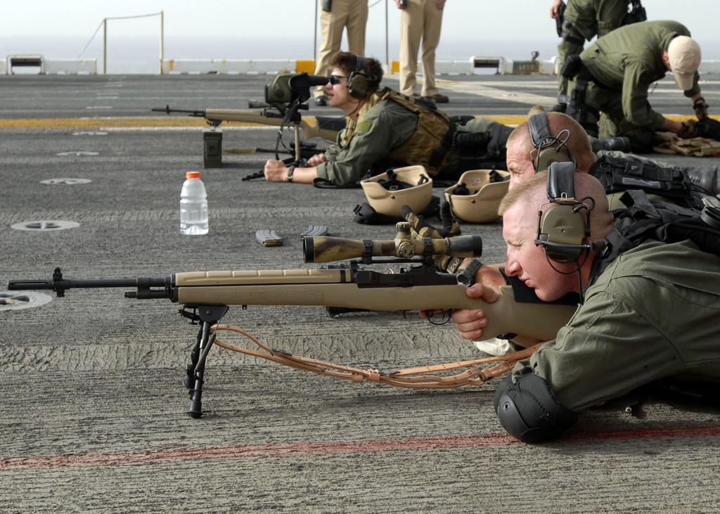 1 435 M14 National Match  M14 Sniper