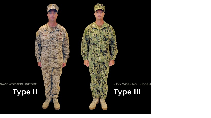 New uniform for Seabees and Seals