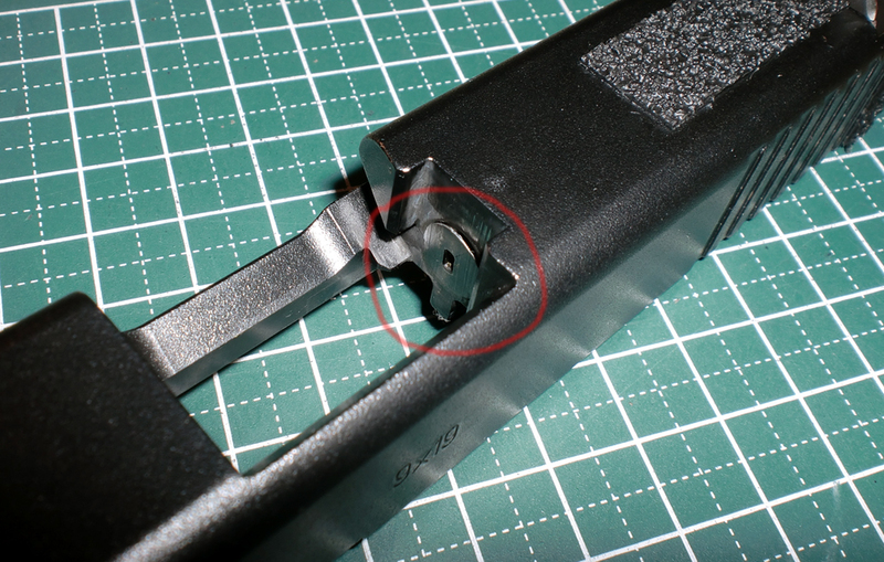 Catastrophic Glock G19 Gen 3 Failure Breech Face Crack