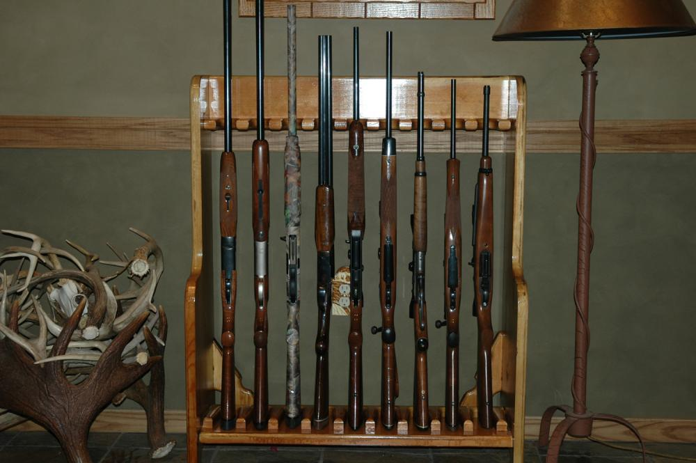 DIY Gun Rack Plans