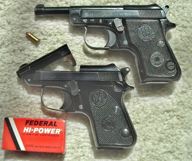 Beretta-Minx-950B long and short
