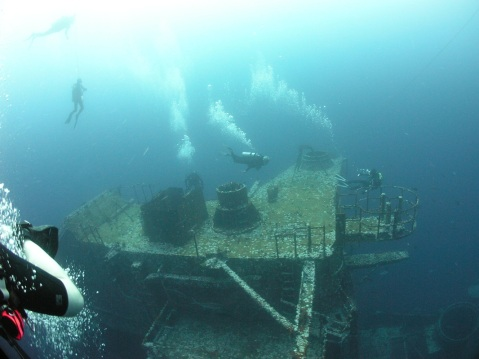 Today she is one of the most popular dive destinations in the Gulf.