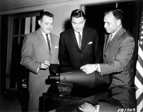 Congressmen loving the W54 as used on the Davy Crocket. I mean who couldn't love a 50-pound nuke!
