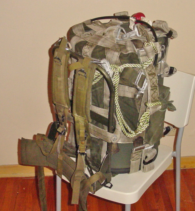The H912 Rucksack. It looks comfy because it HAS to be. Afterall it has 163-pounds of atomic love in it capable of bringing 1-kiloton of party favors to the get together.