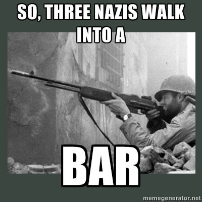 three nazis bar
