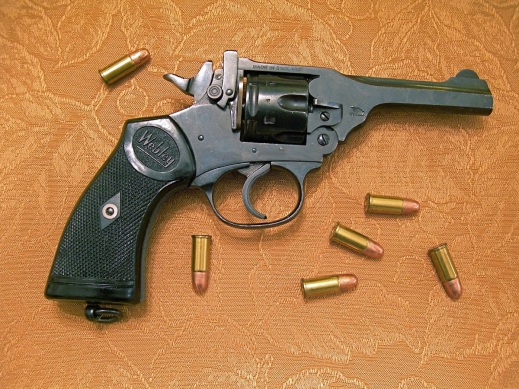 The Webley MkIV is an example of a 38SW caliber revolver that is still very, very shootable