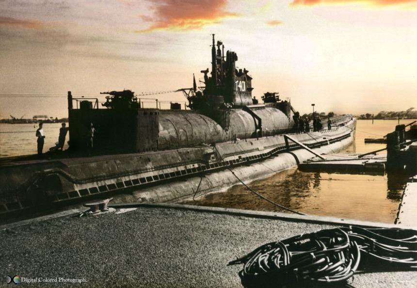 IJN I-401 Pearl Harbor 1946