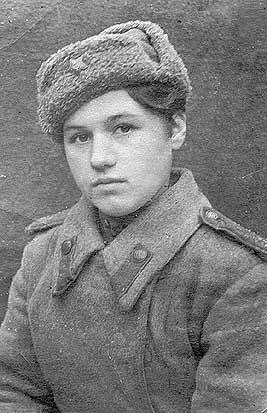 Klavdiya Kalugina 17 year old sniper