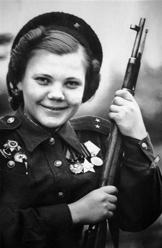 Deadliest Female Russian Snipers