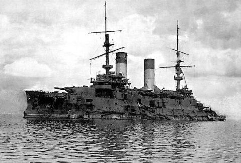 Seven month old battleship...slightly used.