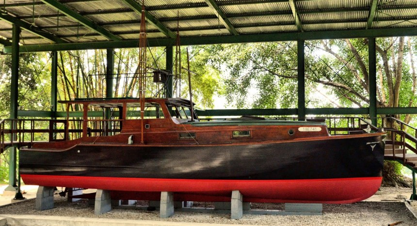 The original Pilar has been landlocked in Cuba for the past fifty years