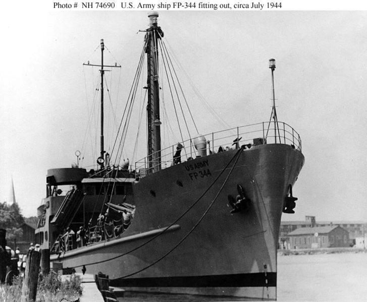 This is how the Pueblo looked when she served in the US Army during WWII
