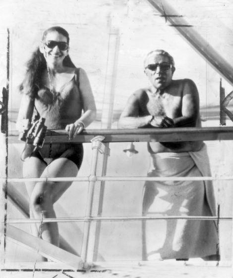 Jackie and Ari on the Christina