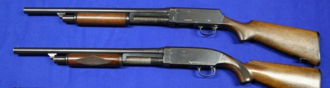 Many vintage pump action shotguns, like these Stevens 520 and 620, while no longer in production, can be great guns