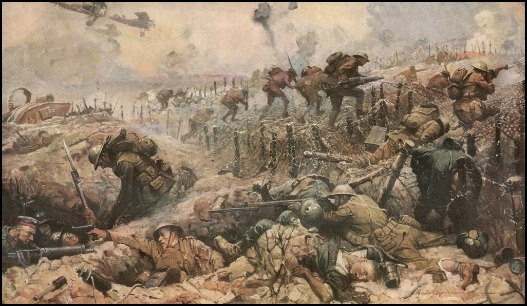 Combat Gallery Sunday The World War I Illustrations Of