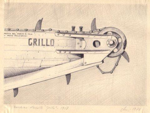 1918 - Barchino d'assalto 'Grillo'