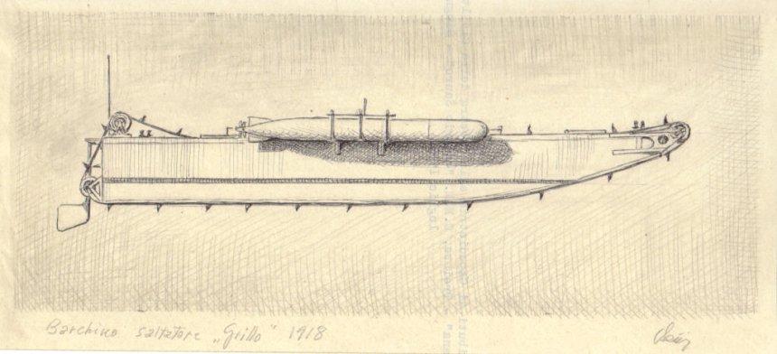 1918 - Barchino saltatore 'Grillo'