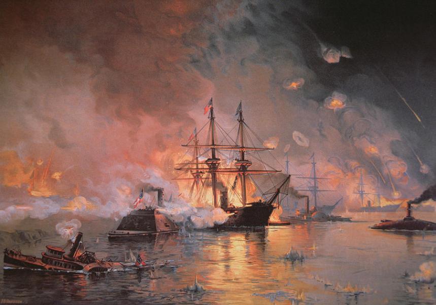 capture-of-new-orleans-by-union-flag-officer-david-g-farragut-julian-oliver-davidson