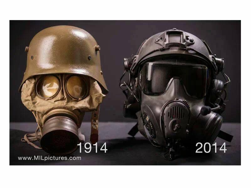 100 years of foot soldier progress