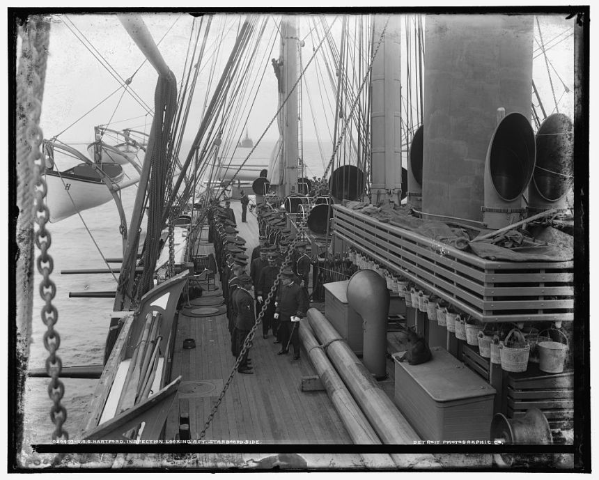 Ships inspection 1905
