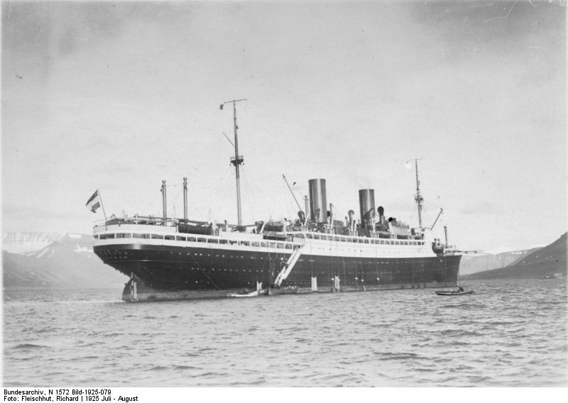 Polarfahrt mit Dampfer