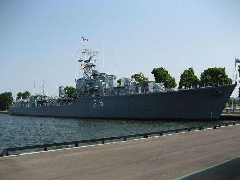 HMCS Haida today