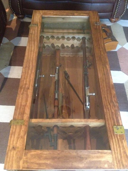 Coffee Table That Gun Crate Laststandonzombieisland