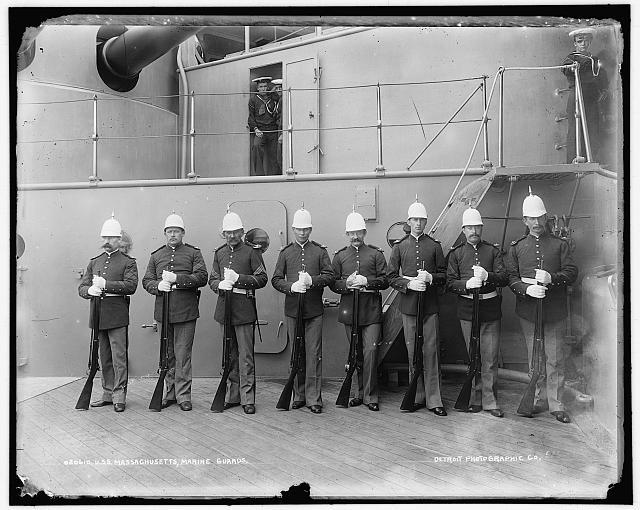 Marine guards c1897
