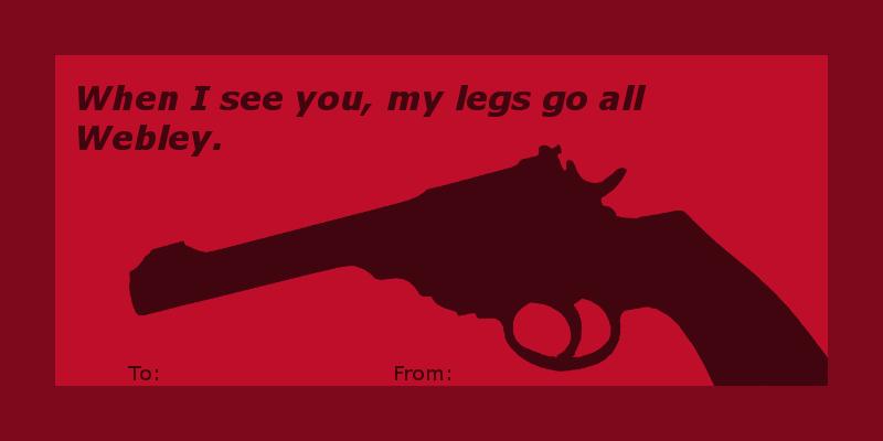 Image result for valentine's day guns