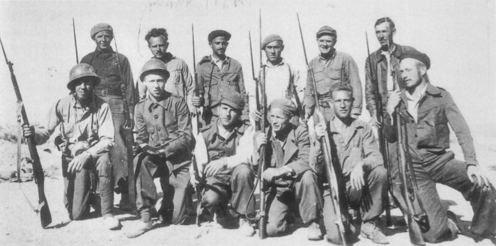 The Abraham Lincoln Brigade suffered over 30% casualties in the three years of war fighting the fascists in Spain.