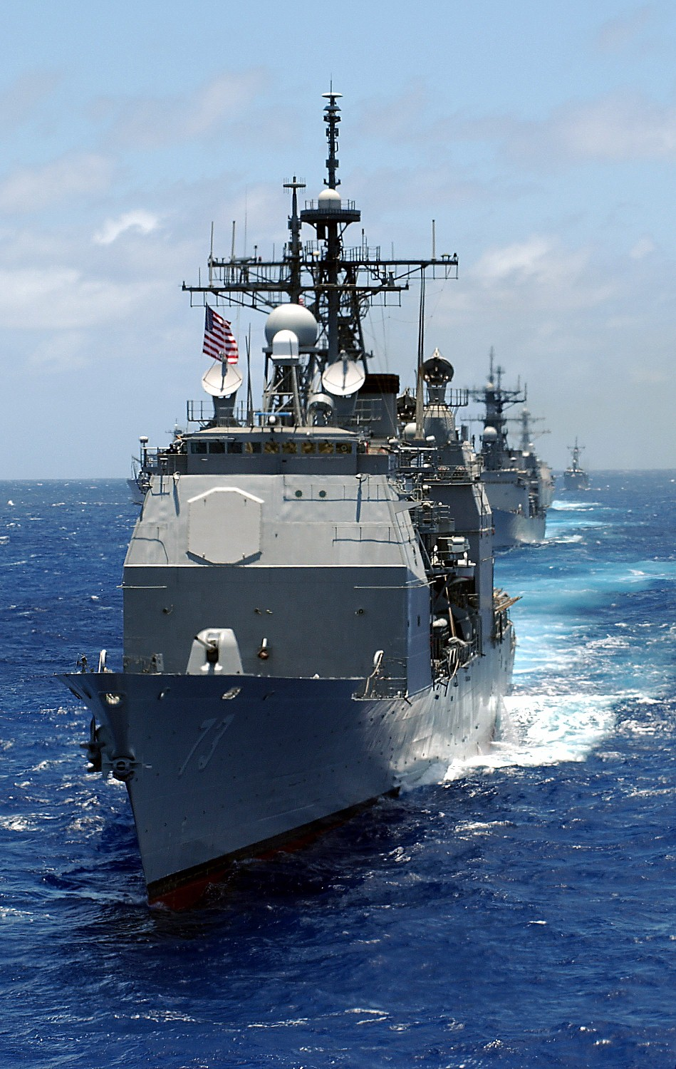 Navy wants to ditch youngest cruiser, GAO says WTF man ... Navy Cruiser Ships