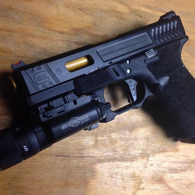 Glock 17 Airsoft Slide