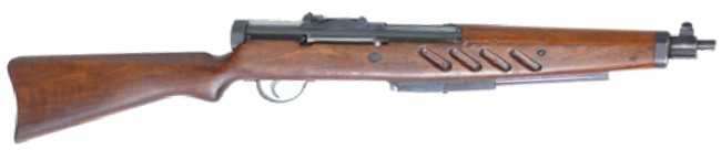 The 1930s SIG MKPO was one of the company's rare early attempts at a submachine gun and less than 1300 were produced, but are still in the arsenals of the Pope's Swiss Guard. Probably they conceal well under a big flowing uniform.