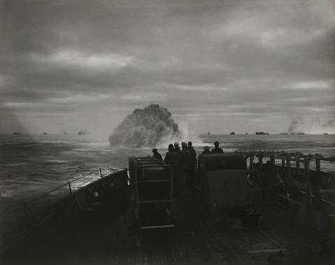USCGC Spencer hits the German submarine U-175, 4.17.43