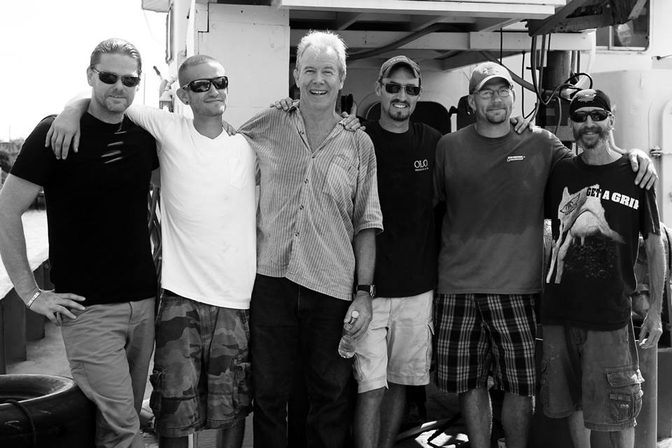 The Aqua Quest Six after returning to the U.S. in July after spending 52 days in a Honduran jail on bogus gun charges. From left to right: Michael McCabe, Devon Butler, Robert H. Mayne Jr, Nick Cook, Steven Matanich, and Kelly Garrett. (Photo: Aquaquest International)