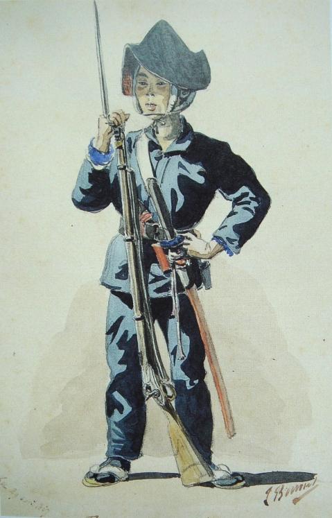 JapaneseBakufuInfantryApril1867