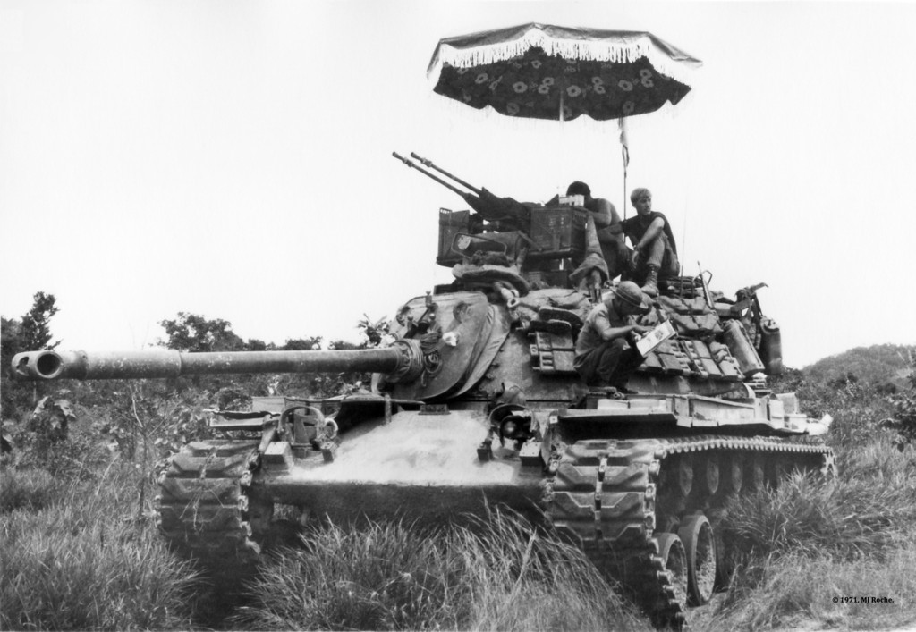 m48a1 blackhorse 11th acr vietnam