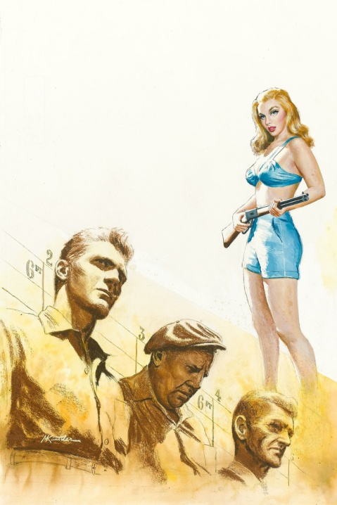 "Mort Küntsler (1956) ""The Hardboiled Lineup"""