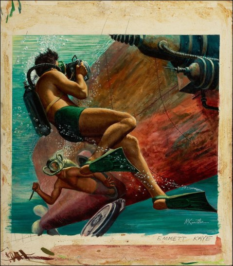 Frogman v Frogman (big up this one, you'll want to)