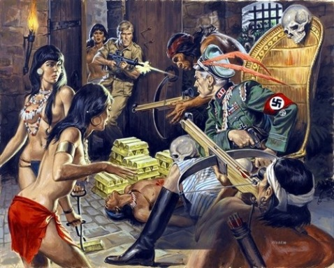 Pesky Nazis hiding out in South America was a reoccurring theme in 1960s pulp