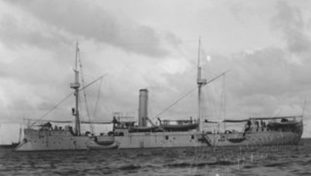 Zaragoza in haze gray by 1914. She had seen a hard 25-years, crossing the Atlantic four times, the world once, and fighting rebels of all kinds for more than fifteen years.