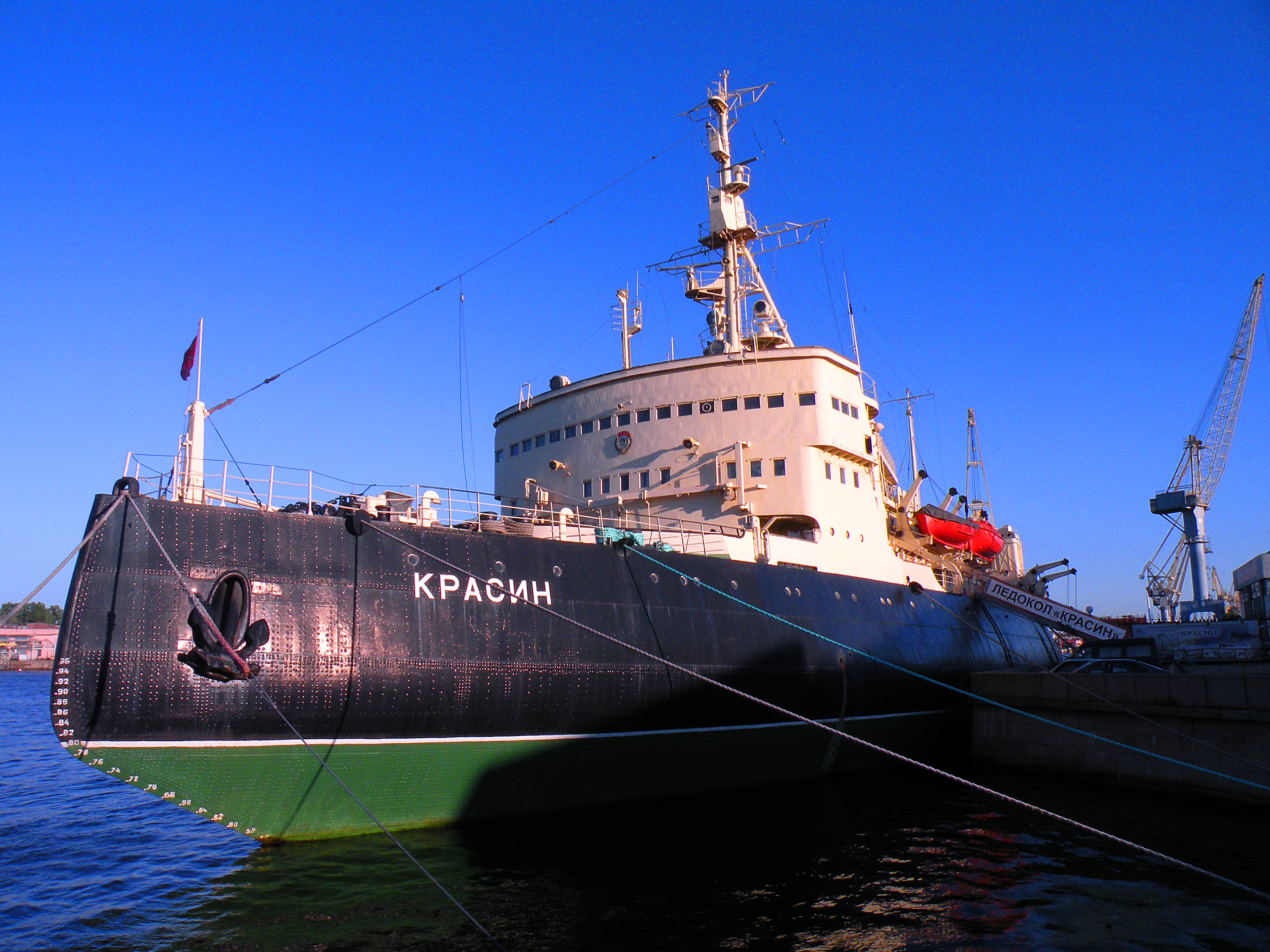 Icebreaker Krassin survived all of the Wind-class breakers she helped inspire