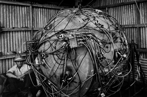 The Gadget, the nuclear device to test the world's atomic bomb