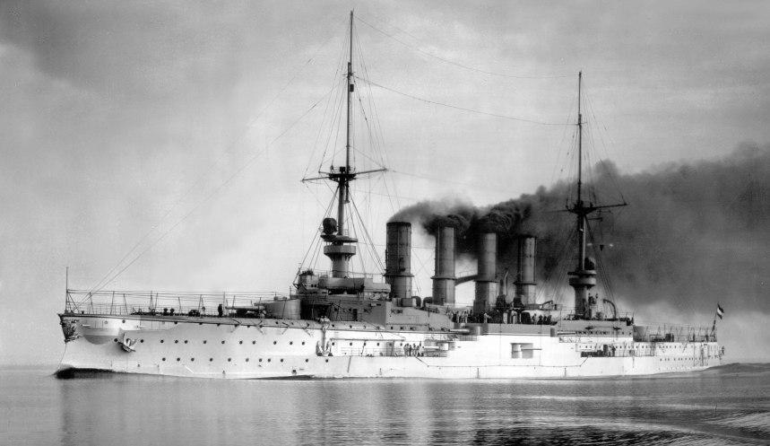 Scharnhorst, 1907. Click to bigup.