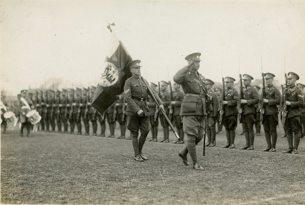 The White Russian Regiment of the Shanghai Volunteer Corps, 1930s