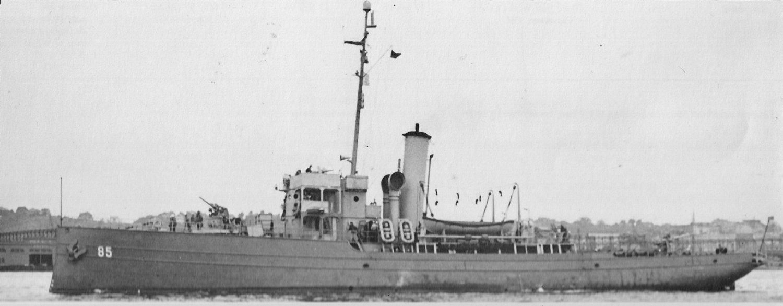 Gresham during WWII. Photo from Navsource