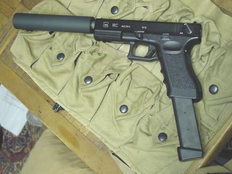 Glock 17 Airsoft Magazine