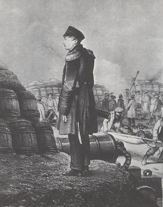 The namesake Admiral at Sevastopol. He was killed at the siege.