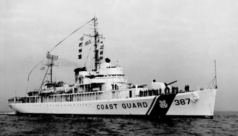 The former seaplane tender made cutter USCGC Gresham