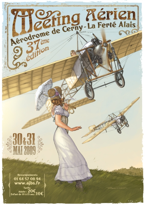 Romain Hugault poster